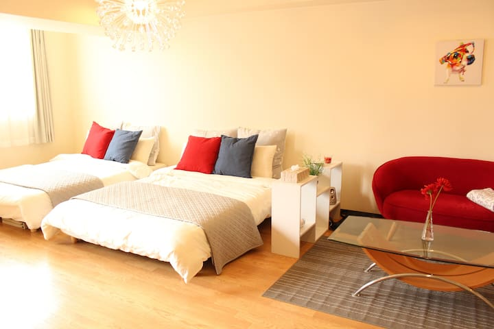 ★Simple and Lovely studio located in SHINSAIBASHI★ - Chuo-ku, Ōsaka-shi