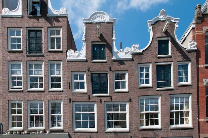 Guesthouse along canal in centre - Amsterdam - Leilighet