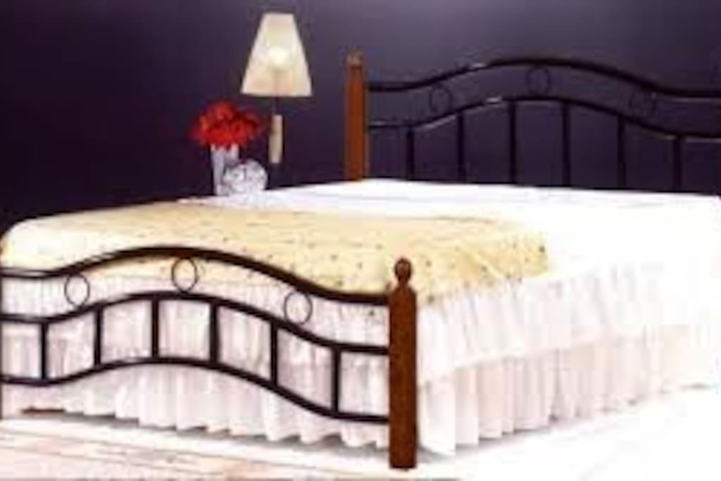 5 by 6 King bed.