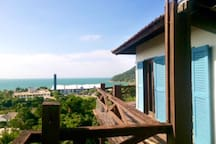 Vista dec da praia da Lagoinha