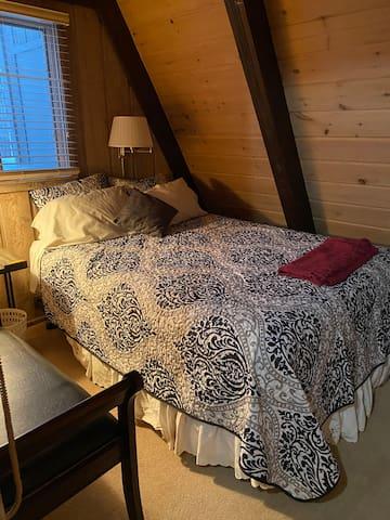 Bedroom #2.  Queen Bed