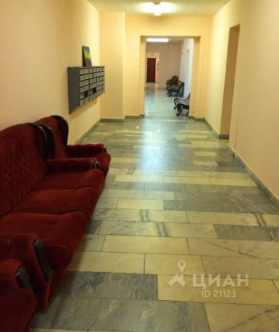 Apartment building lobby // Подъезд