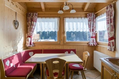 Прекрасный дом в Доломитовых Альпах