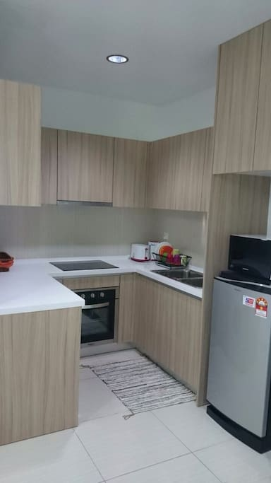 Full kitchen facilities for preparing private meals