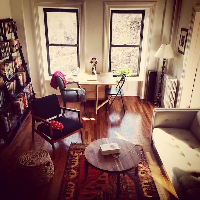 2 Bedroom Midcentury Brooklyn Brownstone Apartment