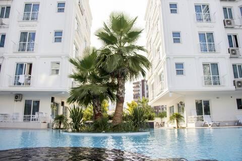 Beautiful apart in Antalya. 25 % Discount HUN C3