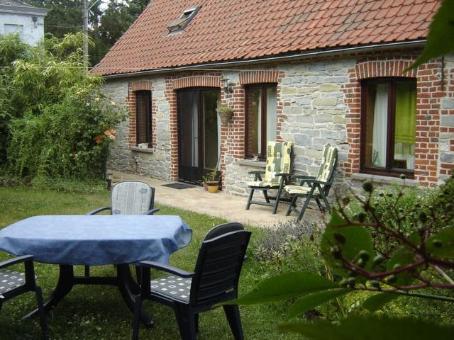 Historical Stone country house  - Brunehaut