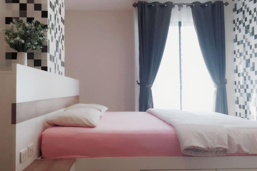 温馨主卧大床房