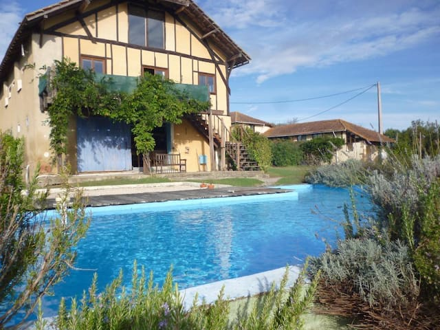 Rural Barn Conversion - Swim Pool - Bézues-Bajon - House
