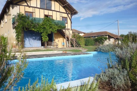 Rural Barn Conversion - Swim Pool - Bézues-Bajon