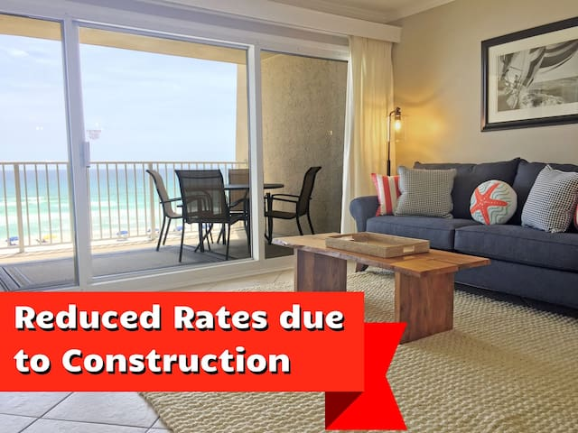 C302 Amazing 3rd floor unit directly on the beach!