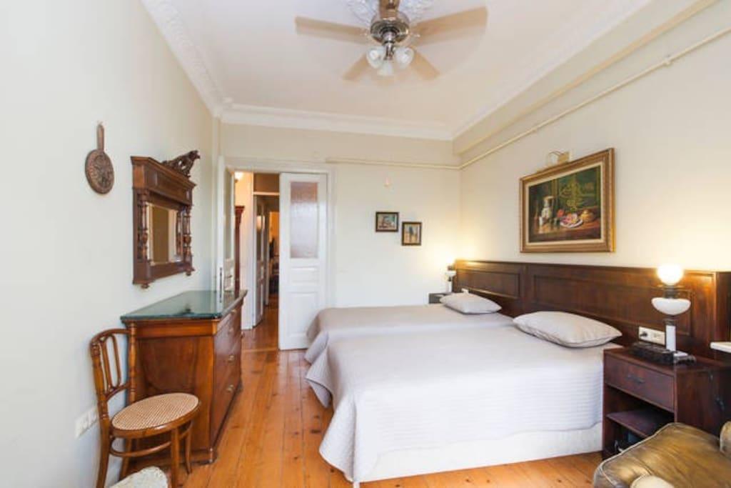 Bright nice Bedroom
