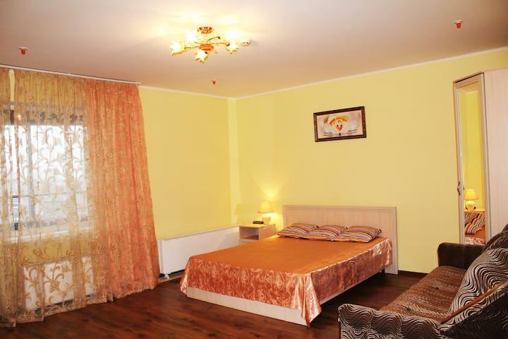Апартаменты для семьи, командировки, 8 эт