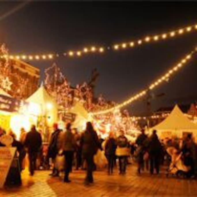 Christmas Market for winter cheer