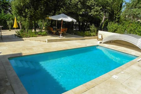 Comfortable villa w/pool in Le Plan - Entrechaux
