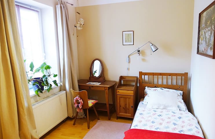 Comfortable singleroom near the airport and Prague