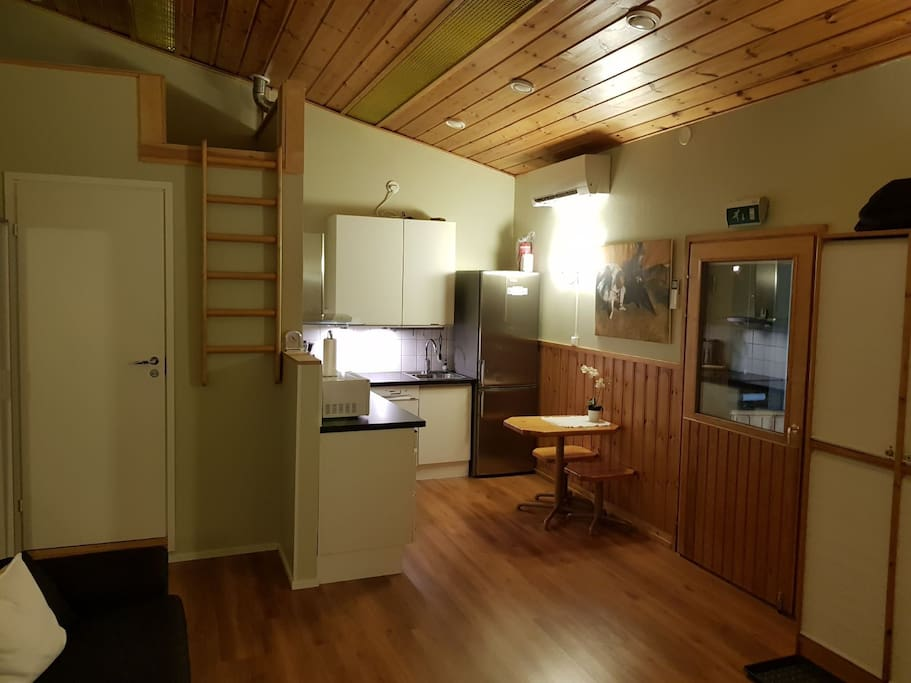 Loft available for additional guests of more than 3.