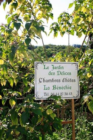 Le Jardin des Délices - Cussac - Aamiaismajoitus