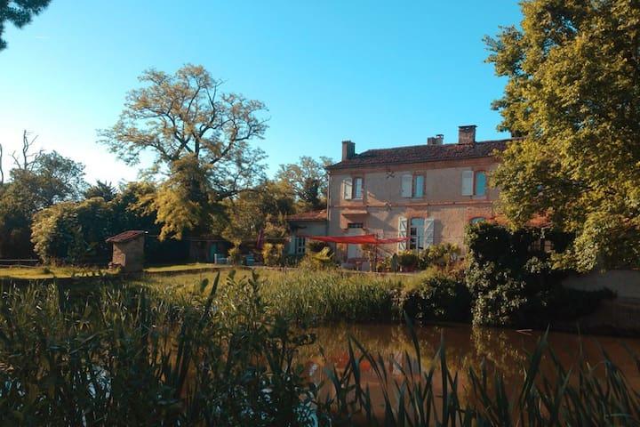 Petit Chateau auf großem Landgut - Beaumont-de-Lomagne - Bed & Breakfast