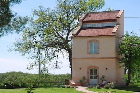 Ferienwohnung in altem Turm - Beaumont-de-Lomagne - House