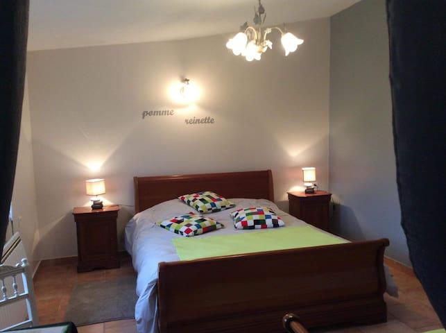 La Cabarette - Chambre d'hôtes Pomme Reinette