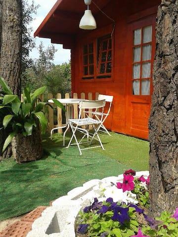 Cabaña Estrella con calefac. y baño - Maçanet de la Selva - Chalet