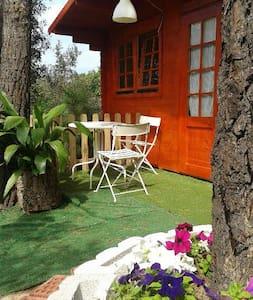 Cabaña Estrella con calefac. y baño - Maçanet de la Selva - Cabin