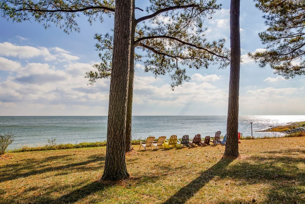 Chesapeake Bay Beachfront Estate Houses For Rent In
