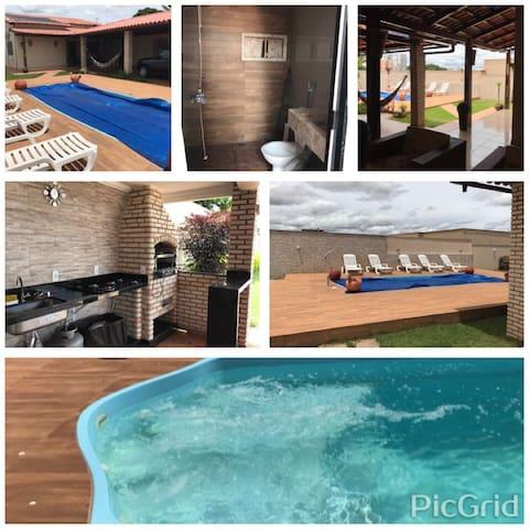 Conforto e lazer em família -  Brasilia - House