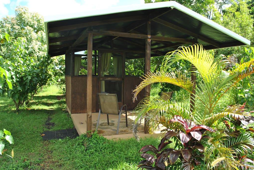 Deck at Milo 2 Cabin