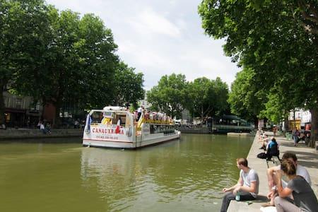 Canal saint martin - designed flat - Parigi - Appartamento