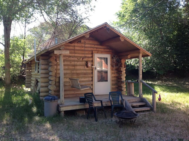 Bunkhouse in a tiny Wyoming town