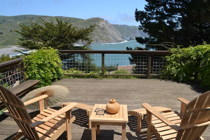 Muir Beach Home, Spectacular Views! - Muir Beach - 단독주택