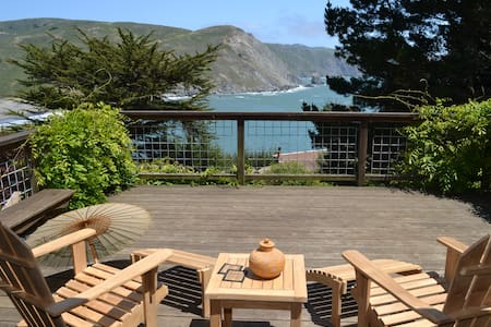 Muir Beach Home, Spectacular Views! - Muir Beach - Talo