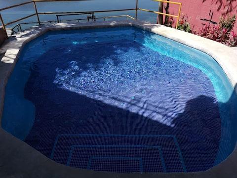 Increíble casa de descanso en Amatitlan Guatemala