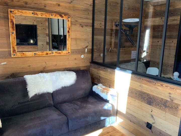 studio 4 pax avec piscine dans superbe résidence