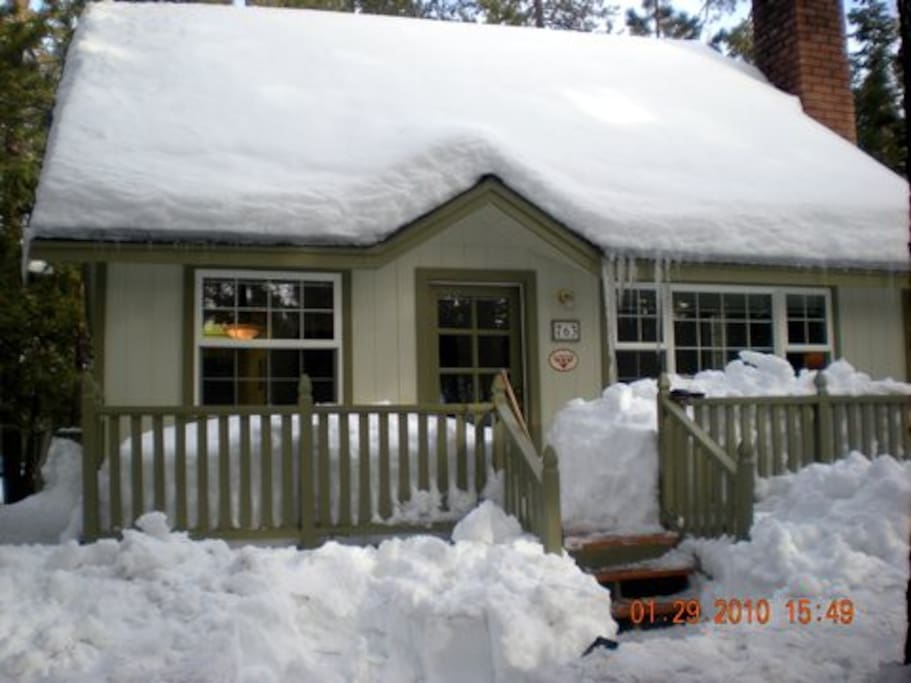 Comfortable cabin near snow summit cabins for rent in for Cabins big bear lake ca