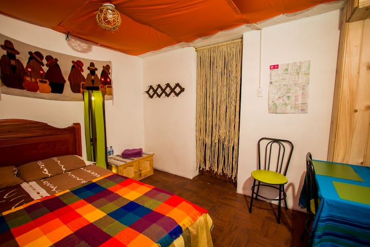 Mini apartment in central Quito - Quito - Huis