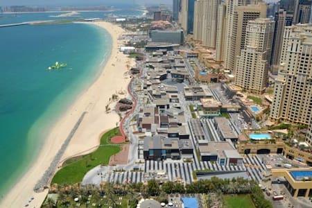 Marina view on the beach in JBR/Dubai Marina - 杜拜 - 公寓