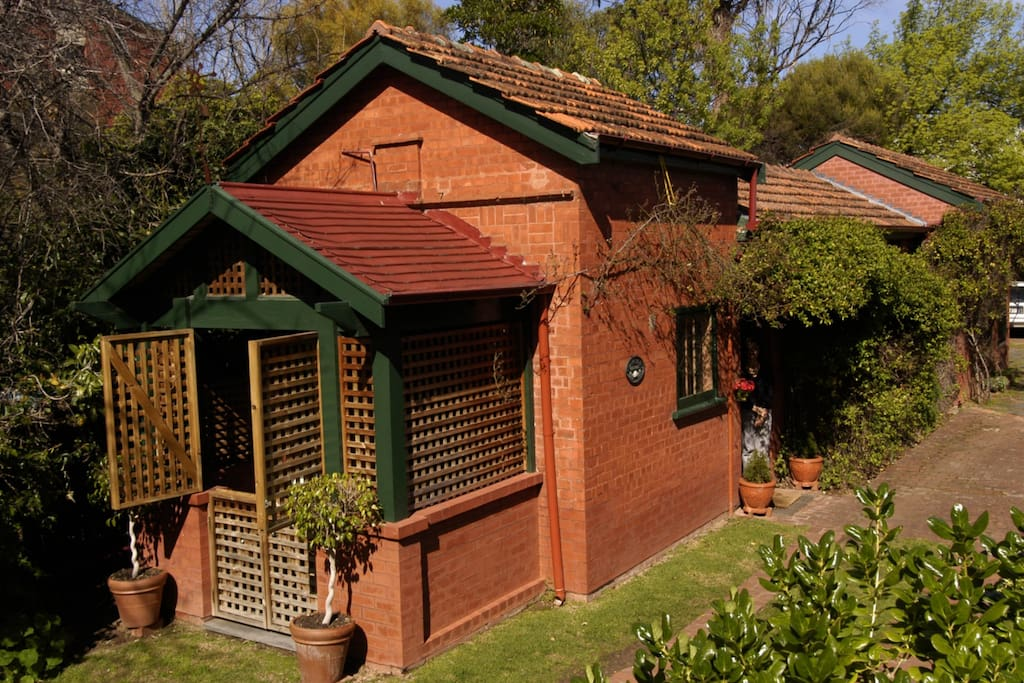 Paprika cottage an Arts and Craft cottage circa 1909