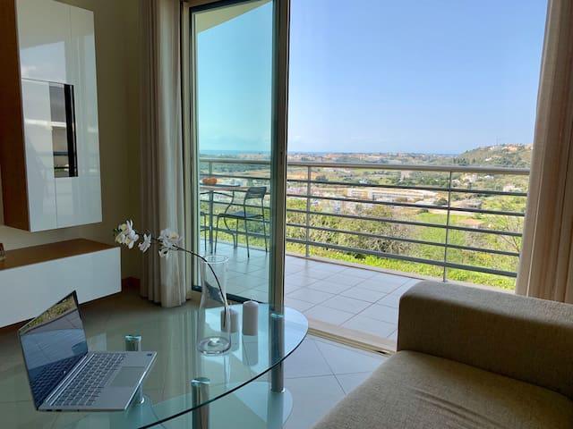 Luxury Ocean View, 7 min to Old Town & Beach, Pool