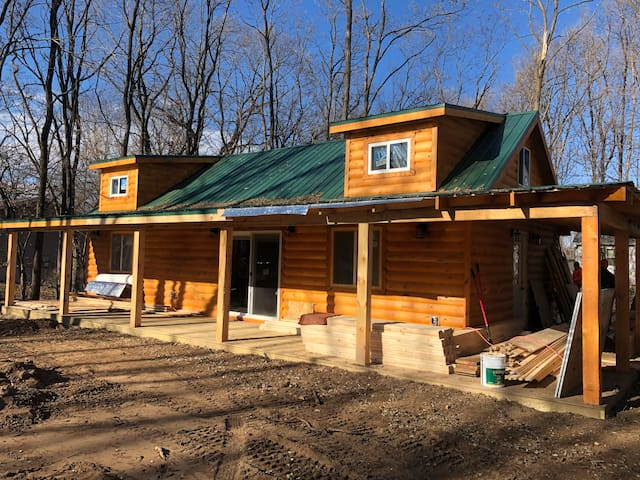 **New construction**  Cozy cabin next to winery!