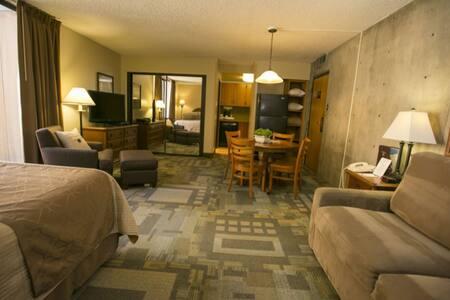 Iron Blosam Lodge, Efficiency unit 1027, Snowbird - Sandy