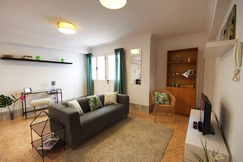 One bedroom apartment semi basement C