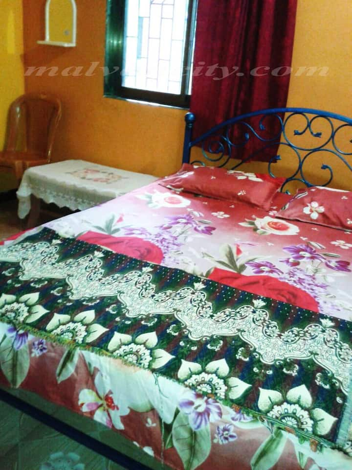 BETHEL HOME 2AC  ROOMS 1 Non AC HALL 15 guest