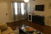 Comfortable. Clean. Inexpensive. Central location. Family and pet friendly!