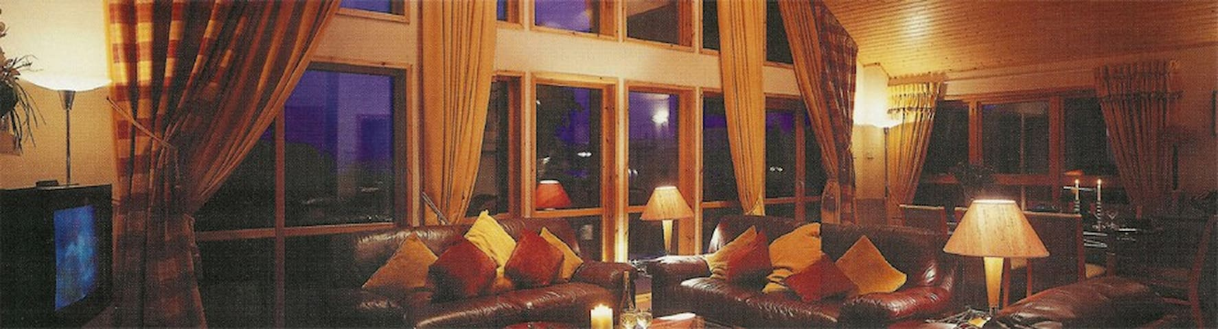 Lux 5-Star Lodge for 8 on Loch Lomond - Balloch
