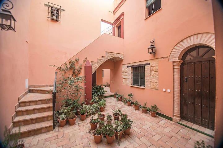 Casa Arcos Mudéjar. Centro Histórico. Restaurada. - Carmona - Casa