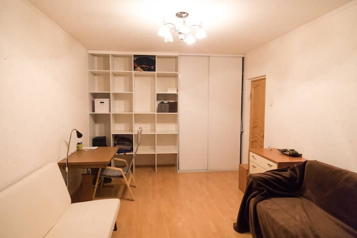 Apartment with 2 rooms in Moscow FIFA World Cup
