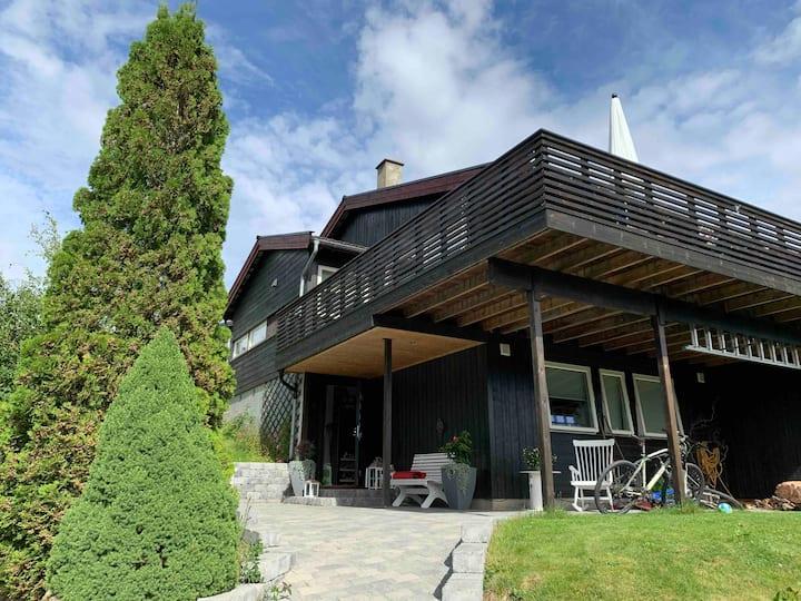 Moderne rekkehus i Lillehammer perfekt for familie